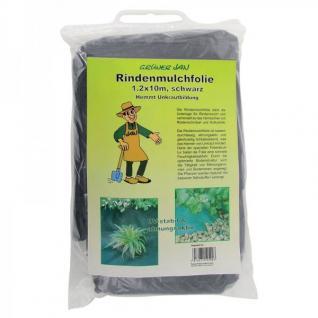 Rindenmulchfolie Gartenflies 1, 2x10m - Vorschau