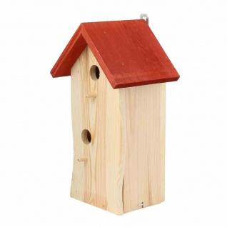 Meisenpalast 2 Einfluglöcher Vogelfutterhaus Vogelhaus Nistkasten Vögel Garten