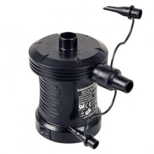 Elektrische Luftpumpe Kompressor Elektropumpe Gebläse Luftmatratze Schlauchboot