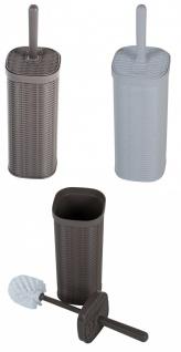 Stefanplast WC Klobürste + Klobürstenhalter Toilettenbürste Toilettengarnitur