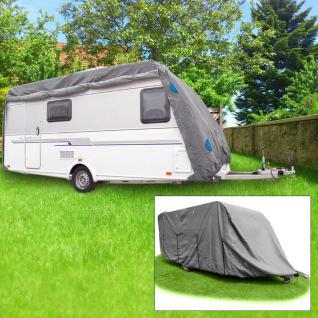Wohnwagen-Schutzhülle Gr. XL 6, 70 x 2, 50 x 2, 20m Abdeckung Caravan Wetterschutz