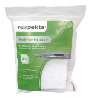 Dunstfilter 3er Pack MI152FN Fettfiltervlies universal für DH 520 540 610 620