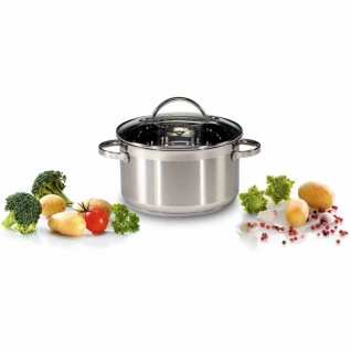 Fleischtopf 5, 5l Kochtopf Suppentopf Töpfe Kochen Küchenhelfer Mahlzeit Topf TOP