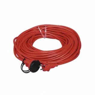 Gummiverlängerungskabel rot 25m Leitungstyp: H07RN-F3G1, 5, rot