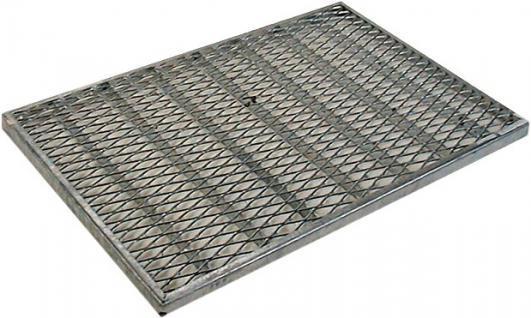 STRECKMETALL Streckmetallroste Roste Vz O.z.600x400/20