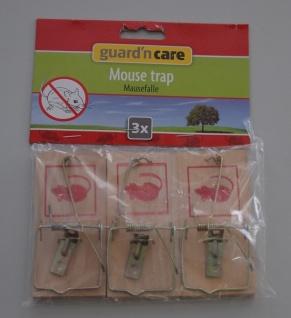 3x 3er-Set Holz-Mausefallen Maus Falle Mausefalle Mäusefalle Fallen Mäuse