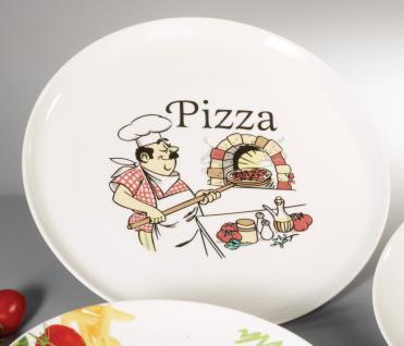"PIZZA Pizzateller ,, Italia"" Teller 30cm Italia Porz."