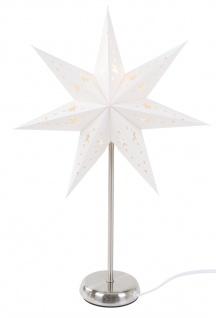 Sternenlampe 46cm Adventsstern Weihnachtsbeleuchtung Papierstern Weihnachtsdeko - Vorschau 2