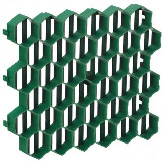 10x Rasengitterplatten 1m² Gehwegplatten Rasenwaben Rasenmatten Gitterplatten - Vorschau 2