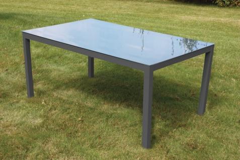 CONSUL GARDEN ALU-TISCH Tisch 150x90cm Amrum Anthrazit