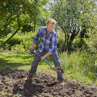 Spaten Gardena Schaufel Garten Gartenarbeit Heimwerker Terrasse Rasen Erdreich
