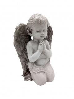 Betender Engel 20cm Engelsfigur Grabschmuck Schutzengel Dekoengel Gartendeko