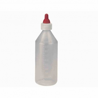 """Lämmerflasche """" ANTI-VAC"""" 1000ml, Kunststoff mit Sauger"""