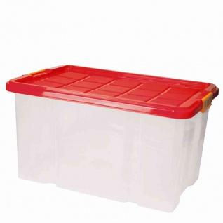 Universalbox + Deckel 46x36, 5x24, 5cm Box Boxen Aufbewahrung Haushalt Ordnung TOP
