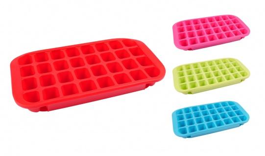 Jumbo Silikon Eiswürfelform Eiswürfelbereiter Eiswürfelbehälter Eiswürfelbox XXL