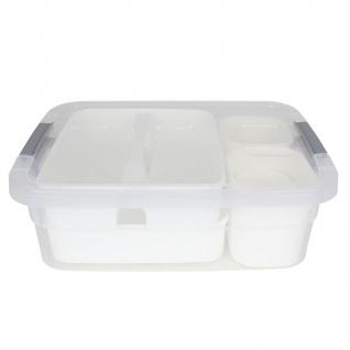 Aufbewahrungsboxen-Set 12-teilig Storage Box Organizer Sortierkasten Stapelbox - Vorschau 4