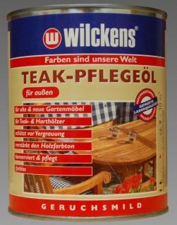 Wilckens Teak Pflegeöl 1L Holzschutz
