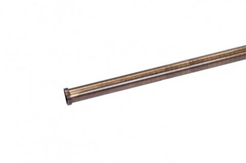 Wesco Relingsystem 16x1000 mm Messing Küchenleiste Gardinenstange Küchenreling