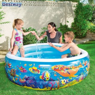 Kinder Pool 152cm Planschbecken Swimmingpool Kinderpool Schwimmbecken Gartenpool