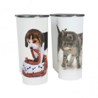 Hunde Futterdose 4L Aufbewahrungsdose Hundefutter Trockenfutter Vorratsdose - Vorschau 5
