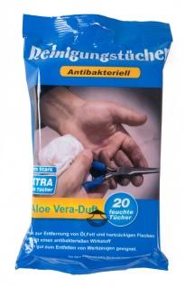 Reinigungstücher antibakteriell mit Aloe Vera Duft Feuchttücher Putztücher