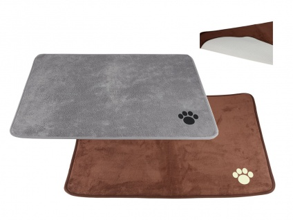 Schaumstoff-Hundematte 98x70cm Hundedecke Schlafplatz Hundekissen Hundebett