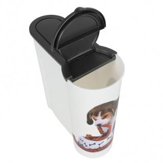 Hunde Futterdose 4L Aufbewahrungsdose Hundefutter Trockenfutter Vorratsdose - Vorschau 3