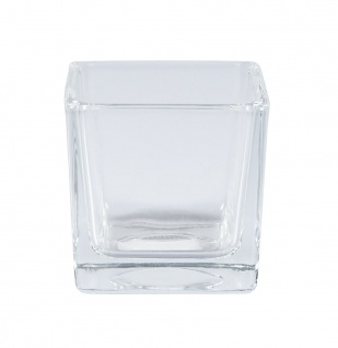 "Sandra Rich WINDLICHT ,, Cube"" 55-55-99 6cm Cube"