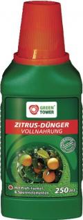 GREEN TOWER GT Zitruspflanzendünger Citruspflanzen DÜnger 250 Ml