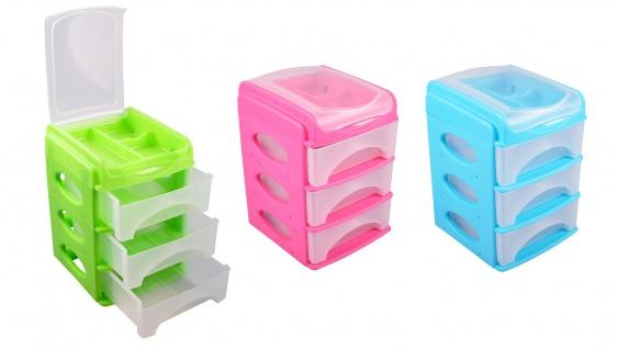 Aufbewahrungsbox Schubladenbox Schreibtischablage Büro Organizer Briefablage