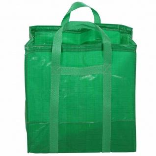 Schwerlast-Gartentasche 216l Traglast 50kg Kompostsack Müllsack Laubsammler NEU