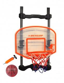 Dunlop Basketballset mit Sound für die Tür Basketballkorb Basketball Ballpumpe