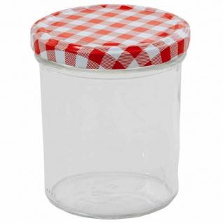 Einkochglas 350 ml, 6er-Set Twist-Off-Gläser
