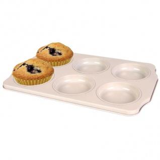 6er Muffin-Backform Cupcake Törtchen Muffinform Muffinblech Kuchenform Keramik