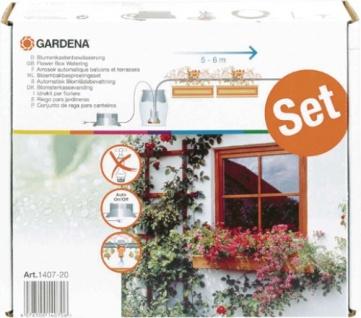 Gardena city gardening Balkon Bewässerung 1407-20 Blumenkastenbewaess.