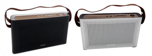 Denver Bluetooth BTS-200 Lautsprecher tragbar Soundbox Musikbox USB MP3 Speaker