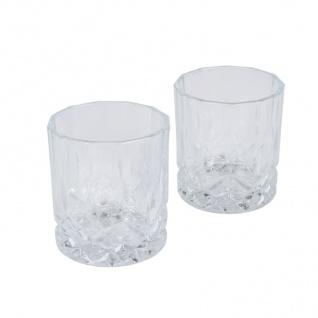 Whiskygläser 2er-Set Schnapsgläser Whiskyglas Whiskey Cognac Likör Schnaps Glas