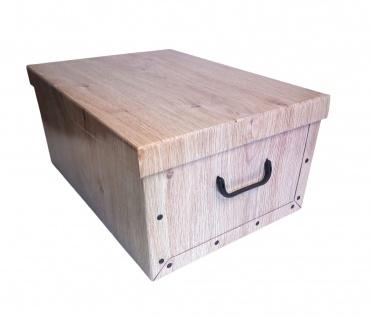 Aufbewahrungsbox aus Pappe Allzweckbox Aufbewahrungskiste Kiste Schachtel Box - Vorschau 2