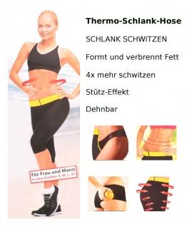 SmartTex Thermo-Schlank-Hose Sporthose Trainingshose Trainingsersatz Schwitzhose