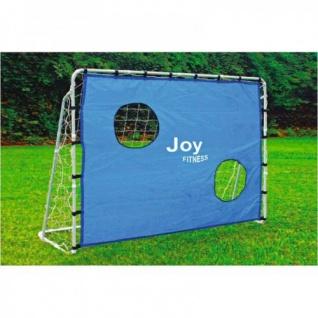 2er-Set Fußballtor mit Torwandeinsatz 215x152x76cm Torwand Fussballtor Tor Netz