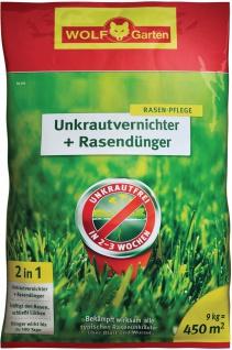 Wolf WOLF Garten Unkrautvernichter plus Rasendünger 3840745 Duenger+unkrautvern.sq450 P713