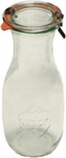 WECK Saftflaschen 764 Saftflasche 0.5 4er-tray 4t-764