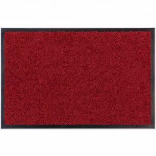 Fußmatte Zanzibar rot 40x60cm Schmutzfangmatte Bodenmatte Fußabtreter wohnen TOP