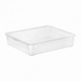 "Aufbewahrungsbox "" Clear Box"" 2 l mit Deckel, 19 x 16, 5 x 9 cm"
