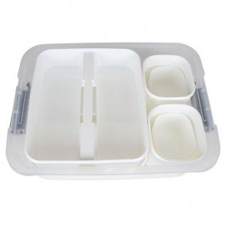 Aufbewahrungsboxen-Set 12-teilig Storage Box Organizer Sortierkasten Stapelbox - Vorschau 3