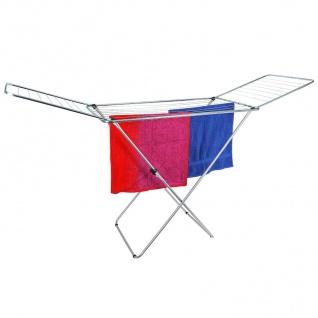 Wäschetrockner 20 Meter Wäscheständer Flügelwäschetrockner Wäscheleine Metall