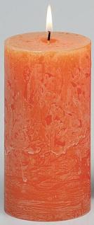 bolsius. Colour your home BOL Stumpenkerze 103868000337 Stump. Oran. 190x68