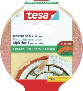 "tesa Malerband ,, Kurven"" 56533 Kurven 25m:25mm"