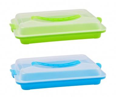 Kuchenbutler Partybutler Transportbox Kuchenbehälter Snackbox Aufbewahrungsbox