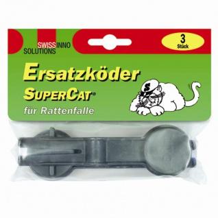 Ersatzköder Super Cat 3er Pack für Rattenfalle